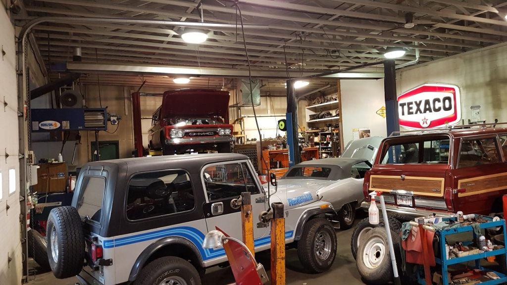 classic car repair shops Edmonton