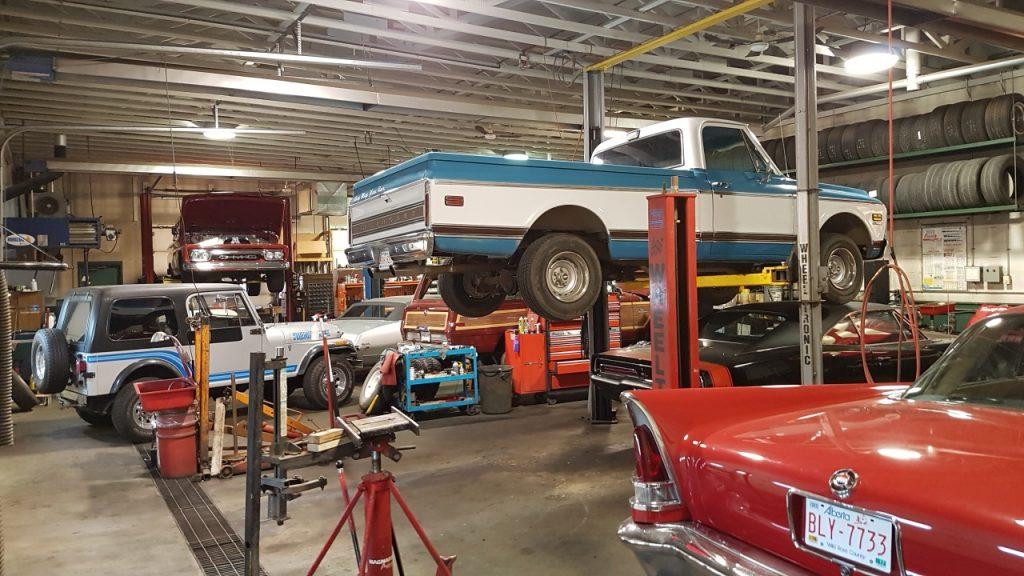 classic truck restoration Edmonton