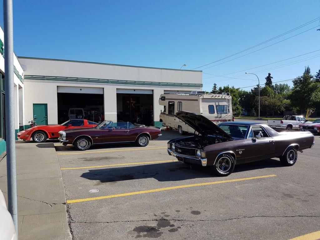 vintage auto restoration Edmonton