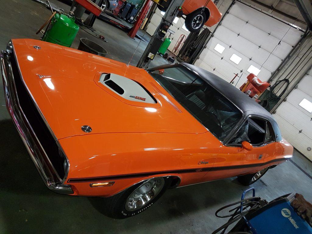 auto mechanic for classic cars Edmonton