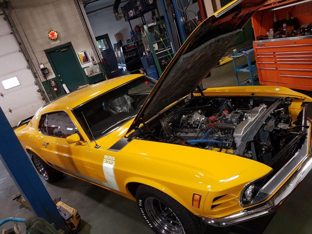 classic car service Edmonton
